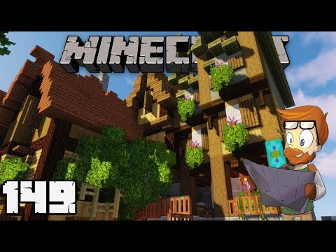 Building With FWhip : FINISHING TOUCHES #149 MINECRAFT 1.13 Let's Play Single Player Survival