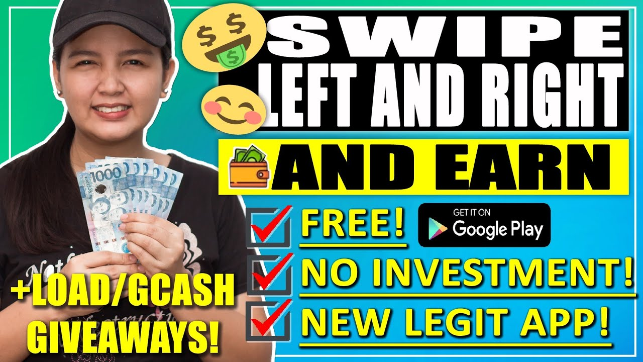 EARN MONEY WITH THIS APP BY JUST SWIPING LEFT & RIGHT | NEW APP! | w/ PROOF!