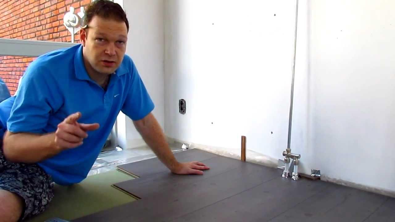 Click Laminaat Leggen : Eigen huis en puin laminaat leggen tips deel 2 youtube