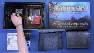 USAopoly Unboxes: Pirates of the Caribbean Battleship