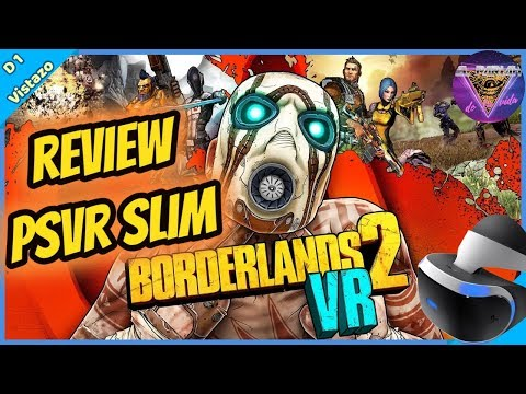 PSVR PS4 SLIM BORDERLANDS 2 VR GAMEPLAY ESPAÑOL