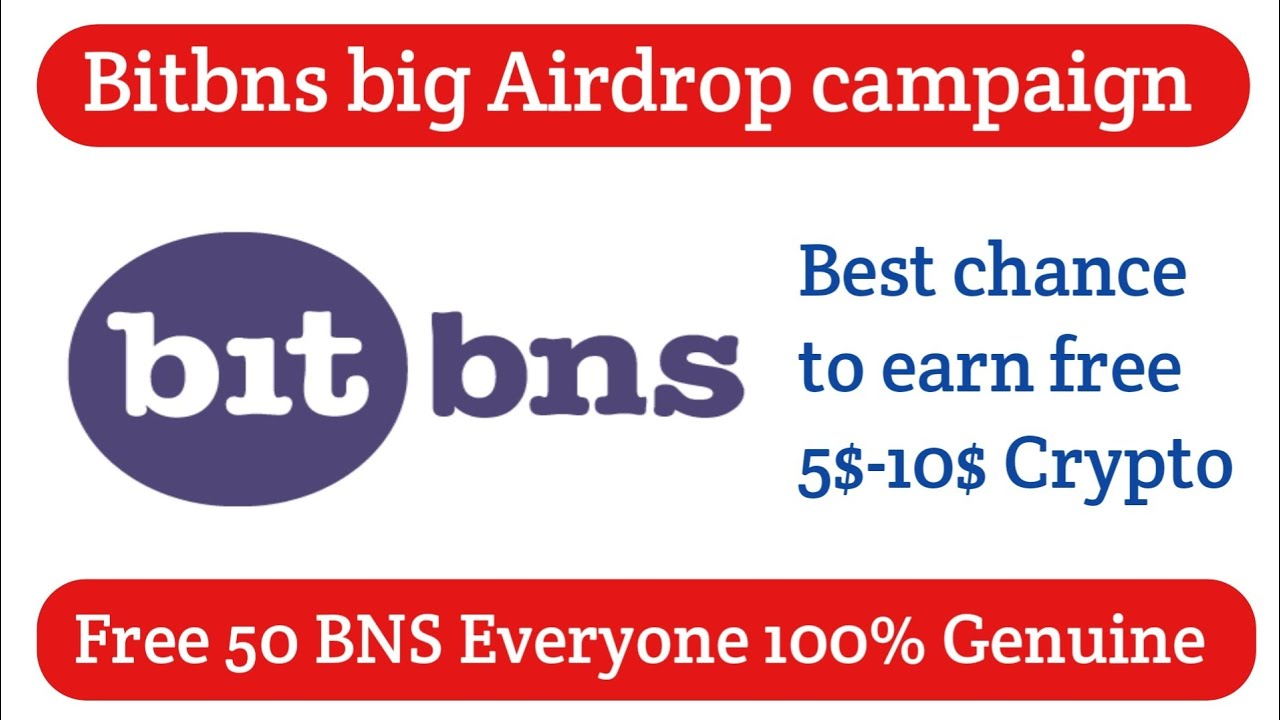 Bitbns free 50 BNS Airdrop campaign How to earn free 5-10$ crypto currency everyone 100% genuine 10
