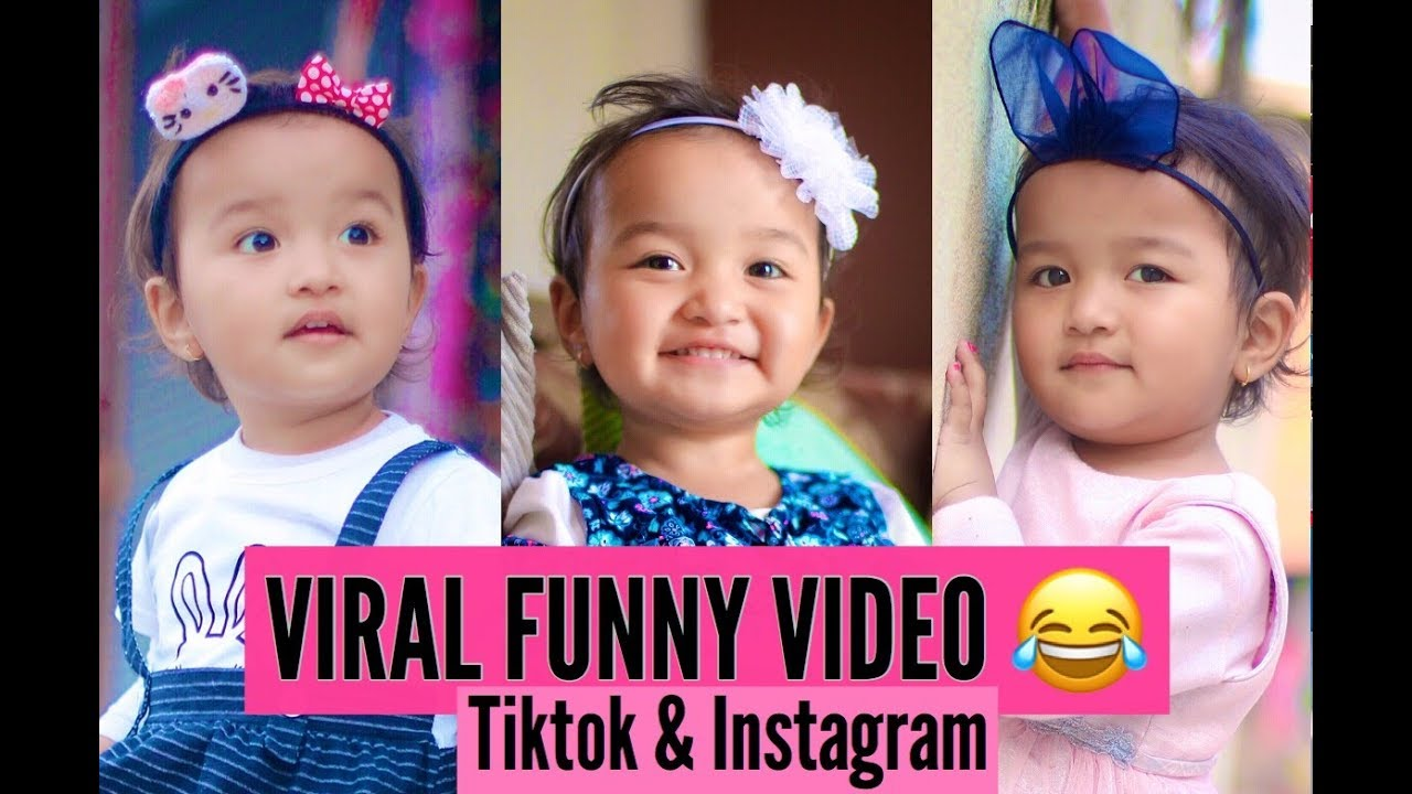 Nepali Viral  Baby tiktok & Instagram funny video - Shailyn Shrestha