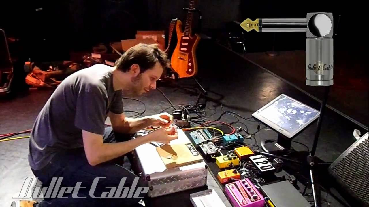 paul gilbert makes a bullet cable slug diy patch cable youtube. Black Bedroom Furniture Sets. Home Design Ideas