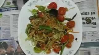 Paw Paw Salad, Papaya Salad (khmer Style: Bok Lahong)
