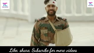New Indian Army Love story || Naina ashq na ho ||  Tihor creation