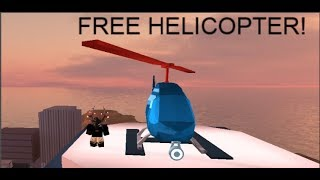 Roblox Jailbreak How to Get A Free Helicopter! [2018]