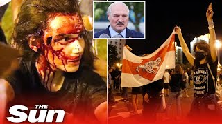 Belarus protests turn violent after contested election win