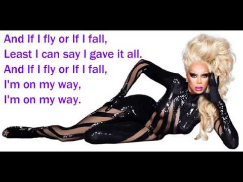 RuPaul - Sissy That Walk Lyric Video