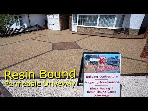 I Would Like A New Modern Resin Bound Driveway | Keston Services Ltd