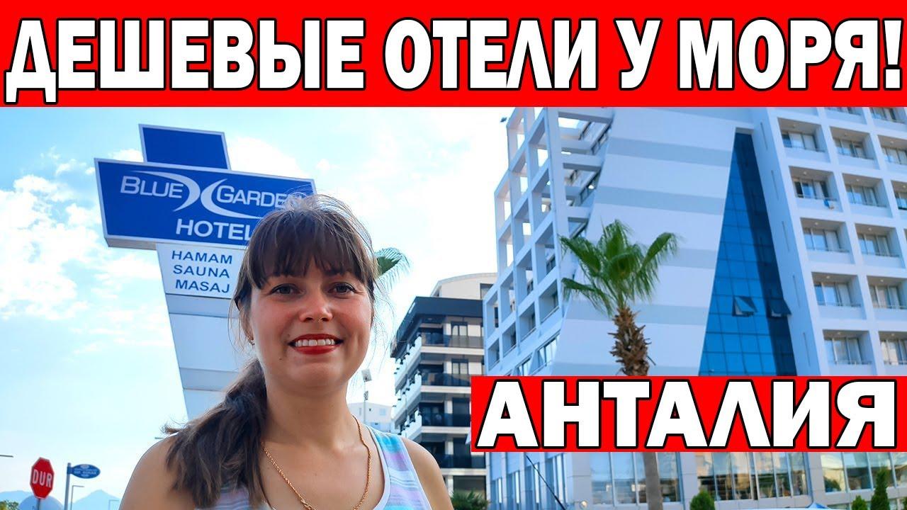 5 августа ждут в отелях Анталии россиян /Обзор отеля Blue garden /Отели 3* на набережной Коньяалты