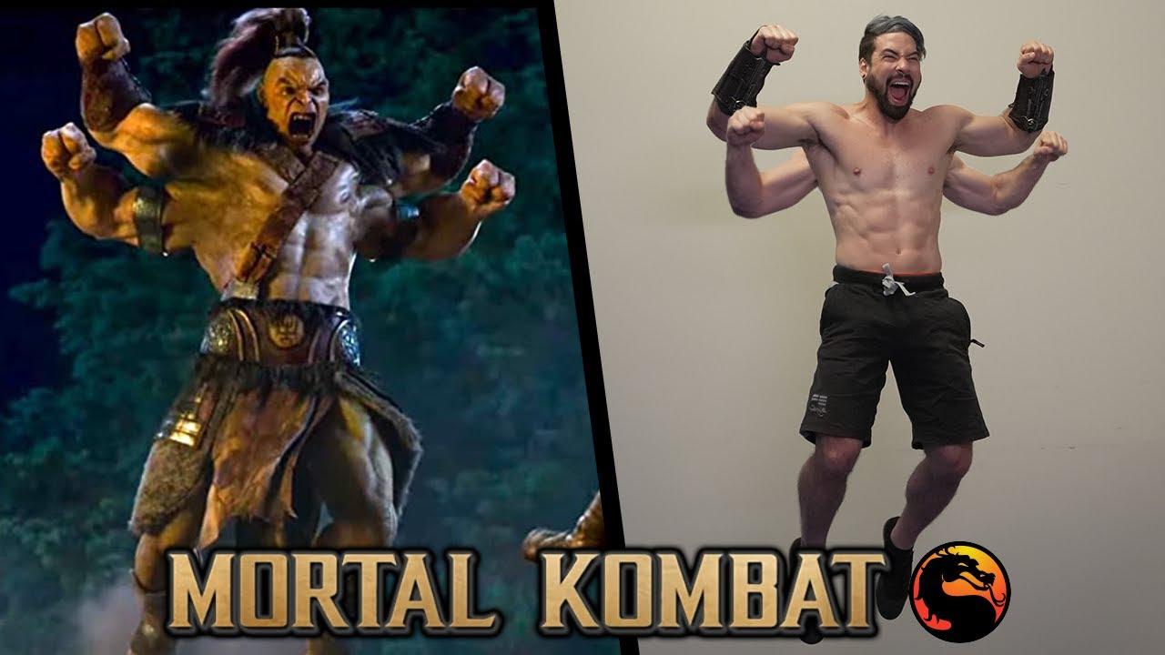 Stunts from Mortal Kombat In Real Life (2021 Movie)