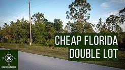 Double Lot, Double Acres in Florida!