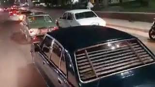 زفة العروس بسيارات بيجو 504 في مصر