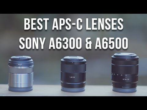 Thumbnail: BEST LENSES FOR SONY a6000 a6300 a6500 (E-Mount)