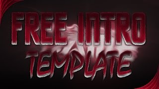 FREE INTRO TEMPLATE! CAN WE PLEASE GET 100 LIKES?