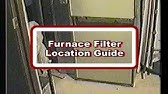 Home Maintenance: How To Change Your Furnace Filter - YouTube