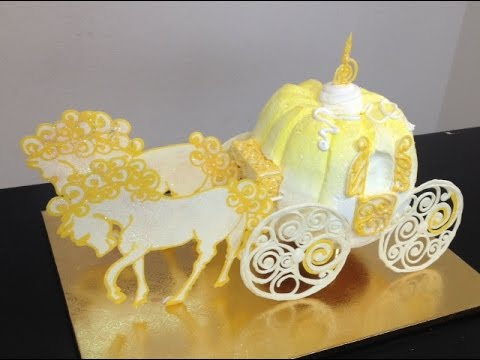 How To Make A Cinderella Carriage DIY Cake Decorating ...