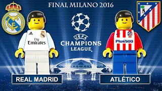 Download Video Champions League Final 2016 • Real Madrid vs Atletico Madrid • goal highlights Lego Football film MP3 3GP MP4