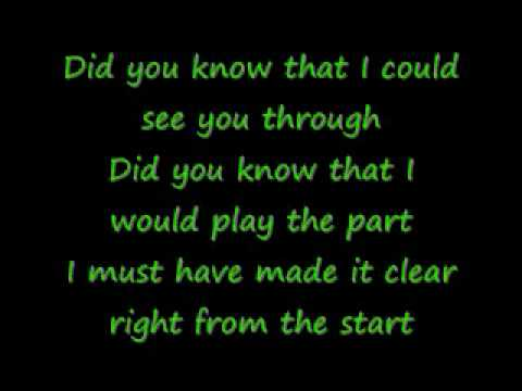 Celine Dion-My Love With Lyrics