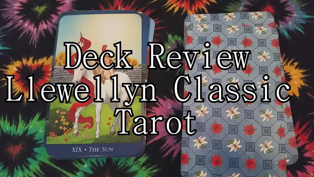 Llewellyn Classic Tarot Deck Review + Flip through