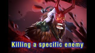 Grimstroke - Killing a specific enemy (with subtitle)