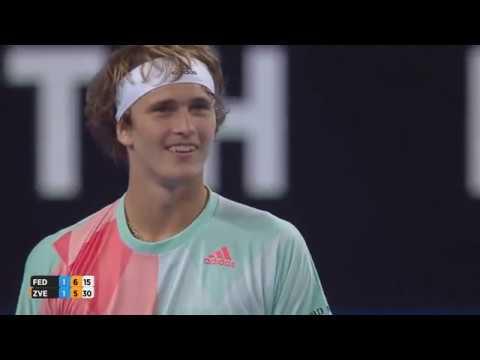 Alexander ZVEREV- Roger Federer-Funny Moments Hopman Cup 2016