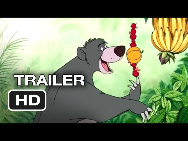 The Jungle Book Diamond Edition TRAILER (2013) - Disney Movie HD Travel Video