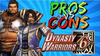 Pros vs. Cons   Dynasty Warriors 6