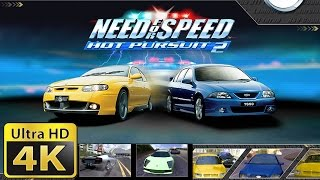 Old Games in 4k : Need for Speed Hot Pursuit 2