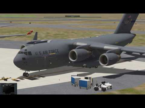 X-Plane 11 Tours By Request: Bloemfontaine (FABL) to Johannesburg (FAOR) Vanilla Scenery.