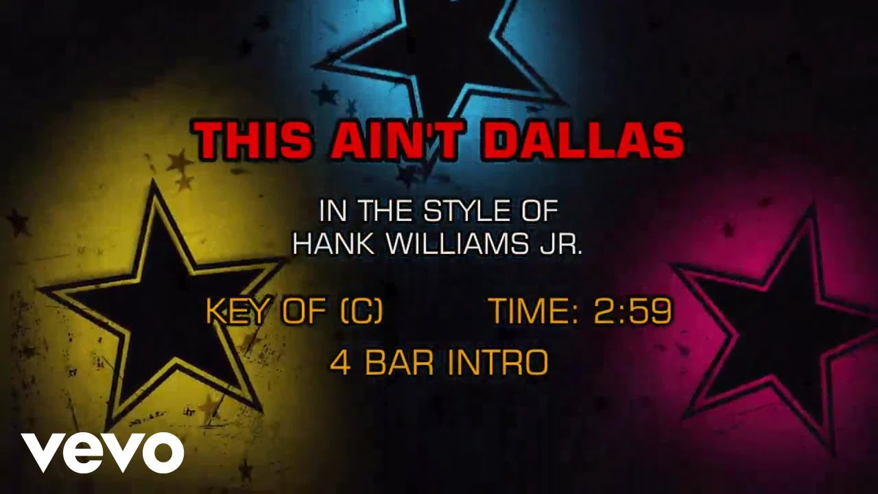 Hank Jr performs This Aint Dallas at The 19th Annual