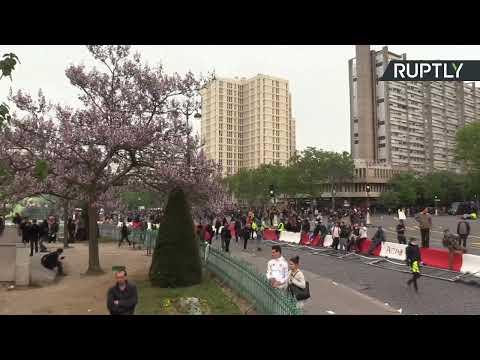 1 Mai à Paris : syndicats, Gilets jaunes et partis politiques descendent dans la rue