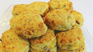 Betty's Cheddar Cayenne Biscuits