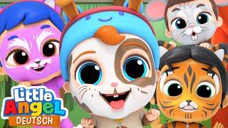 Kinderschminken in der KiTa | Welches Tier bist du? | Little Angel Deutsch