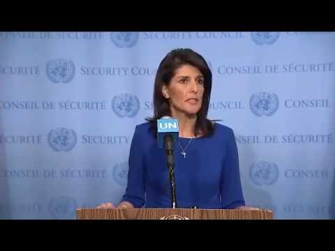 US Ambassador to the UN exposing the Security Council hypocrisy
