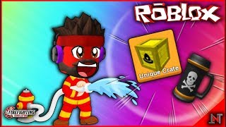 ROBLOX Indonesien #194 Fire Fighting Simulator | Update Creat Hut Dan Upgrade Rucksack