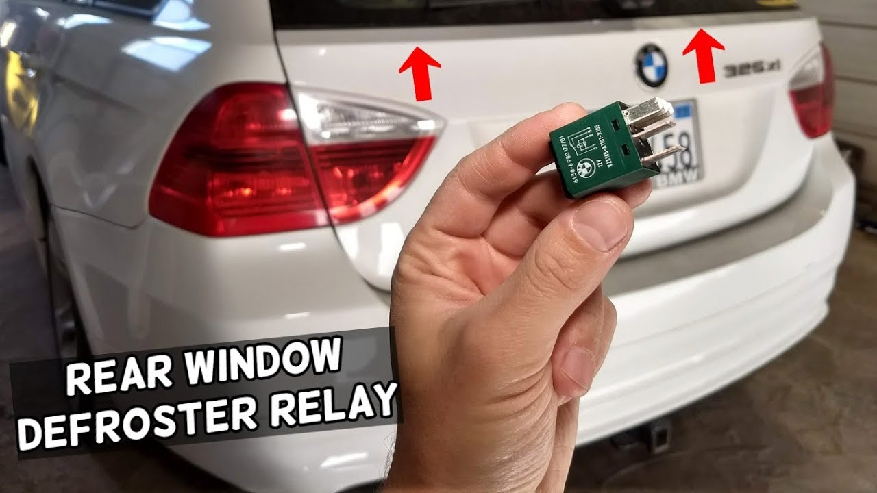 rear window defroster heater relay location bmw e90 e92 e91 e93oklahoma city [ 1280 x 720 Pixel ]