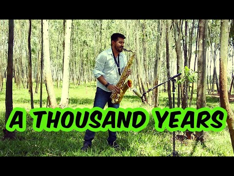 A Thousand Years Sax Tenor Cover
