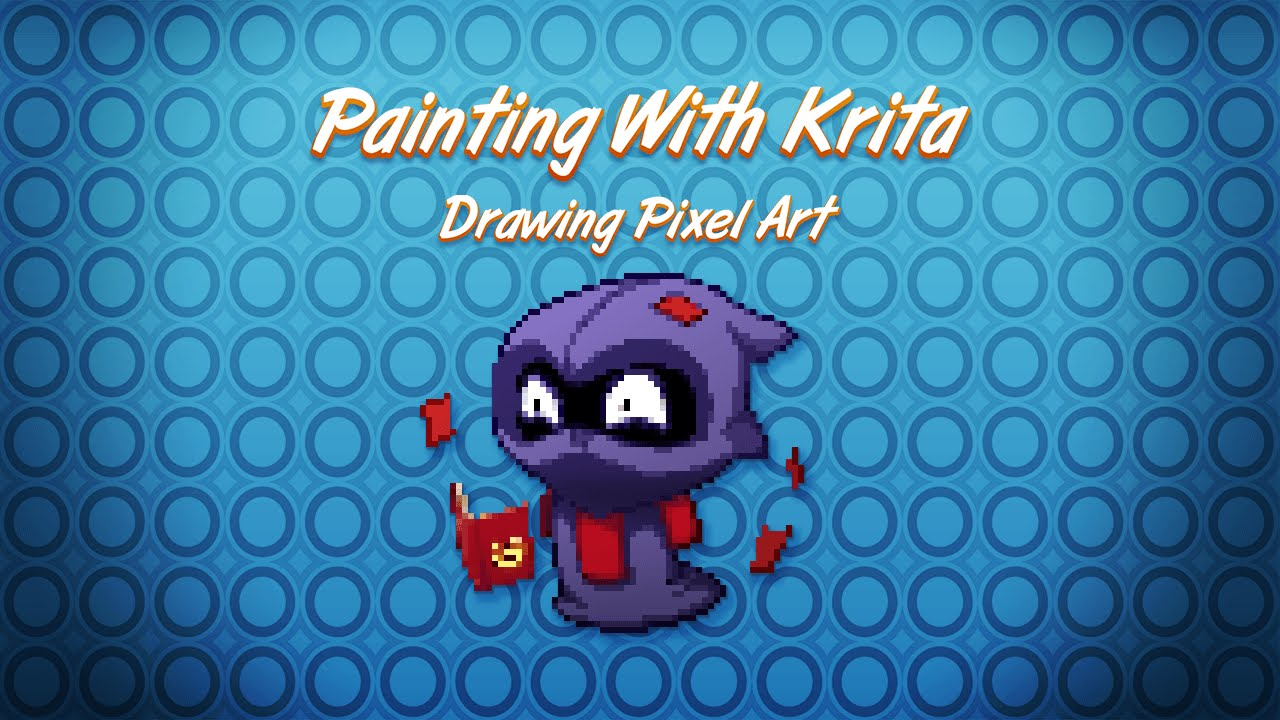 How to setup Krita for pixel art - Krita pixel art tutorial