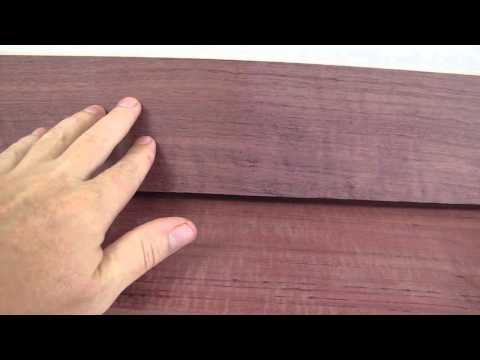 Purple Heart Wood Projects and Finishing Tips