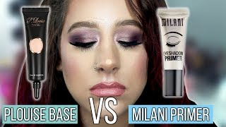 Plouise Base VS Milani Eyeshadow Primer | Which Is Better?