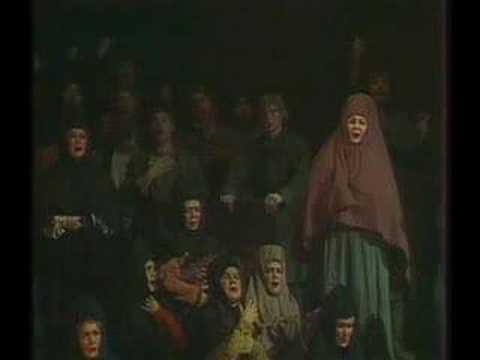 Boris Godunov - Prologe, scene 1 - chorus. Bolshoy.