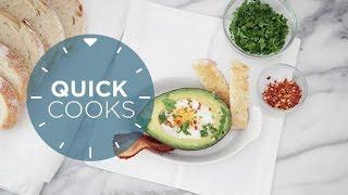 Quick Cooks: Easy Healthy Avocado Eggs