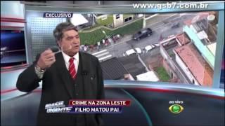 Datena detona a Rede Globo de TV -  Brasil Urgente