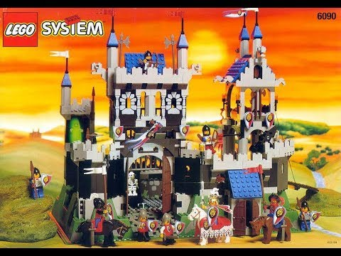 Lego Vintage Classics 6090 Royal Knights Castle 1990s Youtube
