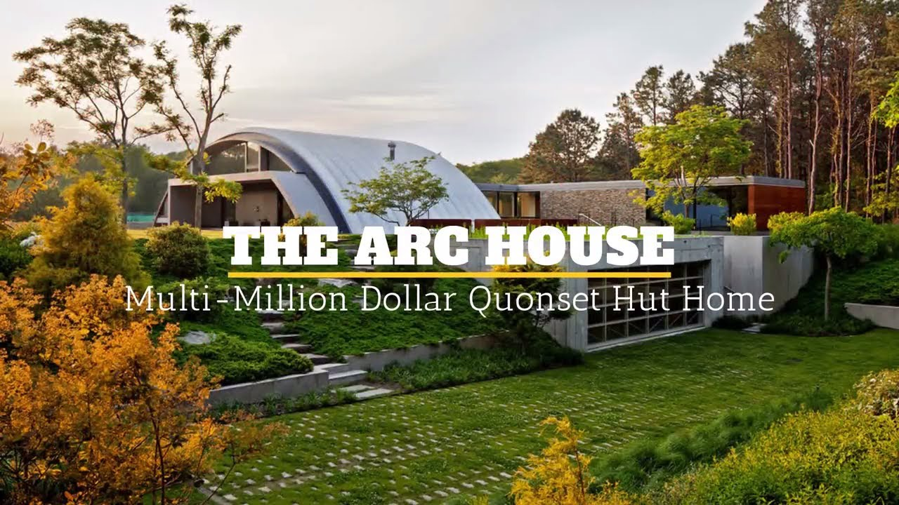 The Multi-Million Dollar Quonset Hut Home - YouTube
