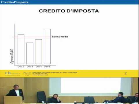 SEMINARIO CREDITO D'IMPOSTA - NOVITA' 2017