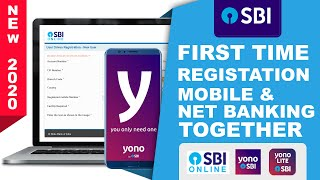 SBI YONO, SBI YONO LITE Cum Anywhere Personal And Online Banking Registration Together[HINDI]