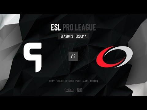 Ghost vs compLexity - ESL Pro League Season 9 NA - map2 - de_overpass [SSW]
